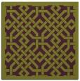 rug #885343   square green rug
