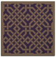 rug #885347 | square mid-brown popular rug