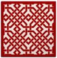 rug #885356 | square borders rug