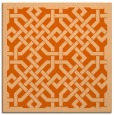 rug #885375 | square red-orange traditional rug