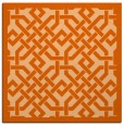 rug #885376 | square traditional rug
