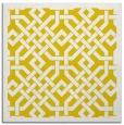 rug #885423   square yellow borders rug