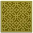 rug #885435 | square light-green borders rug