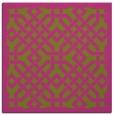 rug #885443 | square light-green popular rug