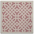 rug #885455 | square pink traditional rug