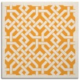 rug #885463 | square white geometry rug