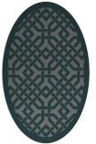 rug #885591 | oval popular rug