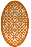 rug #885664 | oval borders rug