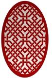 rug #885708 | oval popular rug