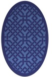 rug #885749   oval geometry rug