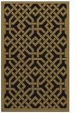 rug #885847 |  black geometry rug