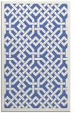 rug #885867 |  blue geometry rug