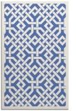 rug #885867 |  blue borders rug