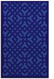 rug #885923 |  blue-violet traditional rug