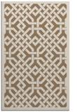 rug #885963    mid-brown borders rug