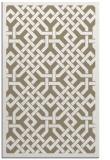 rug #885967 |  mid-brown borders rug