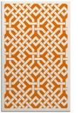 rug #886015 |  orange borders rug