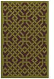rug #886047 |  purple borders rug