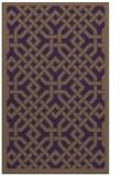 rug #886051 |  purple traditional rug