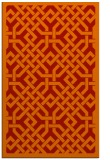 rug #886063 |  red traditional rug