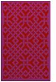 rug #886071 |  red borders rug