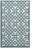 rug #886107 |  blue-green traditional rug