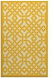 rug #886115 |  yellow borders rug