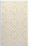 rug #886119 |  yellow traditional rug