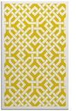 rug #886127 |  yellow borders rug