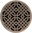 rug #886183 | round beige traditional rug