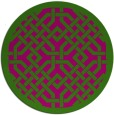 rug #886339   round traditional rug
