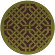 rug #886399   round purple popular rug
