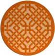 rug #886432 | round traditional rug