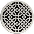 rug #886444   round borders rug