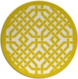 rug #886447   round white borders rug