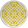 rug #886479 | round white traditional rug