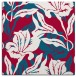 rug #886991 | square red natural rug