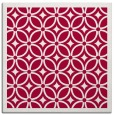 rug #887031 | square red borders rug