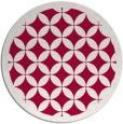 rug #887263 | round red circles rug
