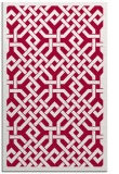 rug #887319 |  red traditional rug