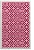 rug #887599 |  red geometry rug