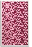 rug #887679    red borders rug