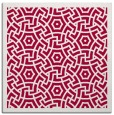 rug #887691 | square red circles rug