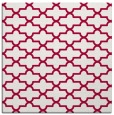 rug #887851 | square red traditional rug