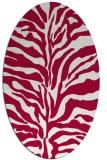 rug #887896 | oval animal rug