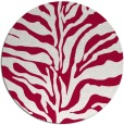 rug #887903 | round red popular rug