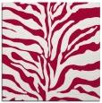 rug #887911 | square red animal rug
