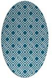 rug #887918 | oval retro rug