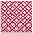 rug #887931 | square red check rug