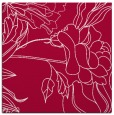 rug #887971 | square red graphic rug